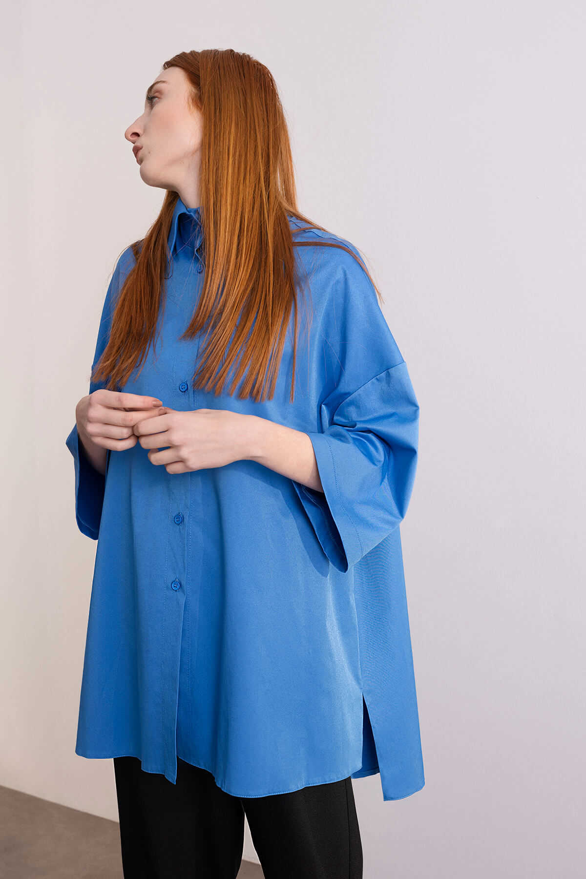Kuaybe Gider - 5116 Tunik Mavi