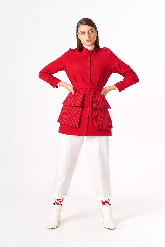 5119 Tunik Kırmızı