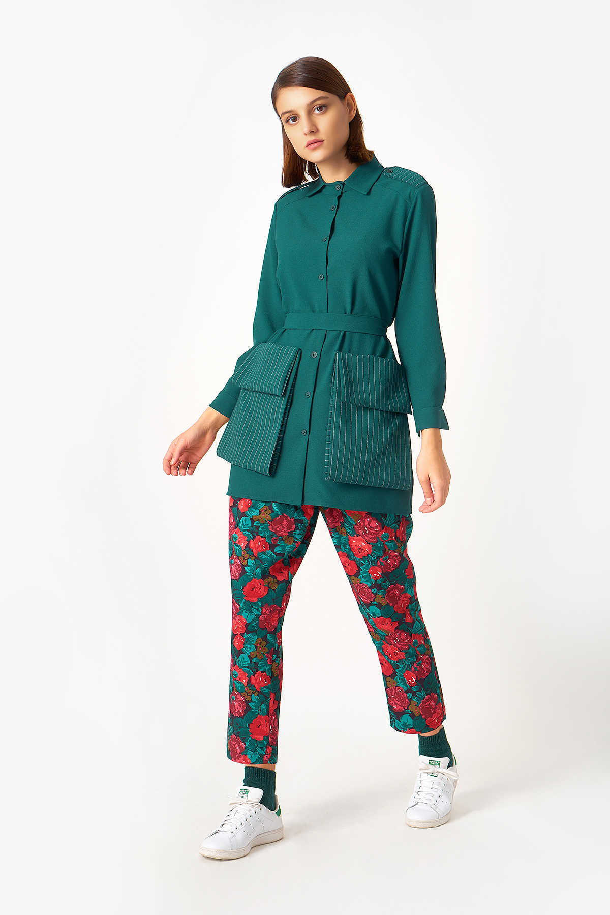 Kuaybe Gider - 5119 Tunik Yeşil