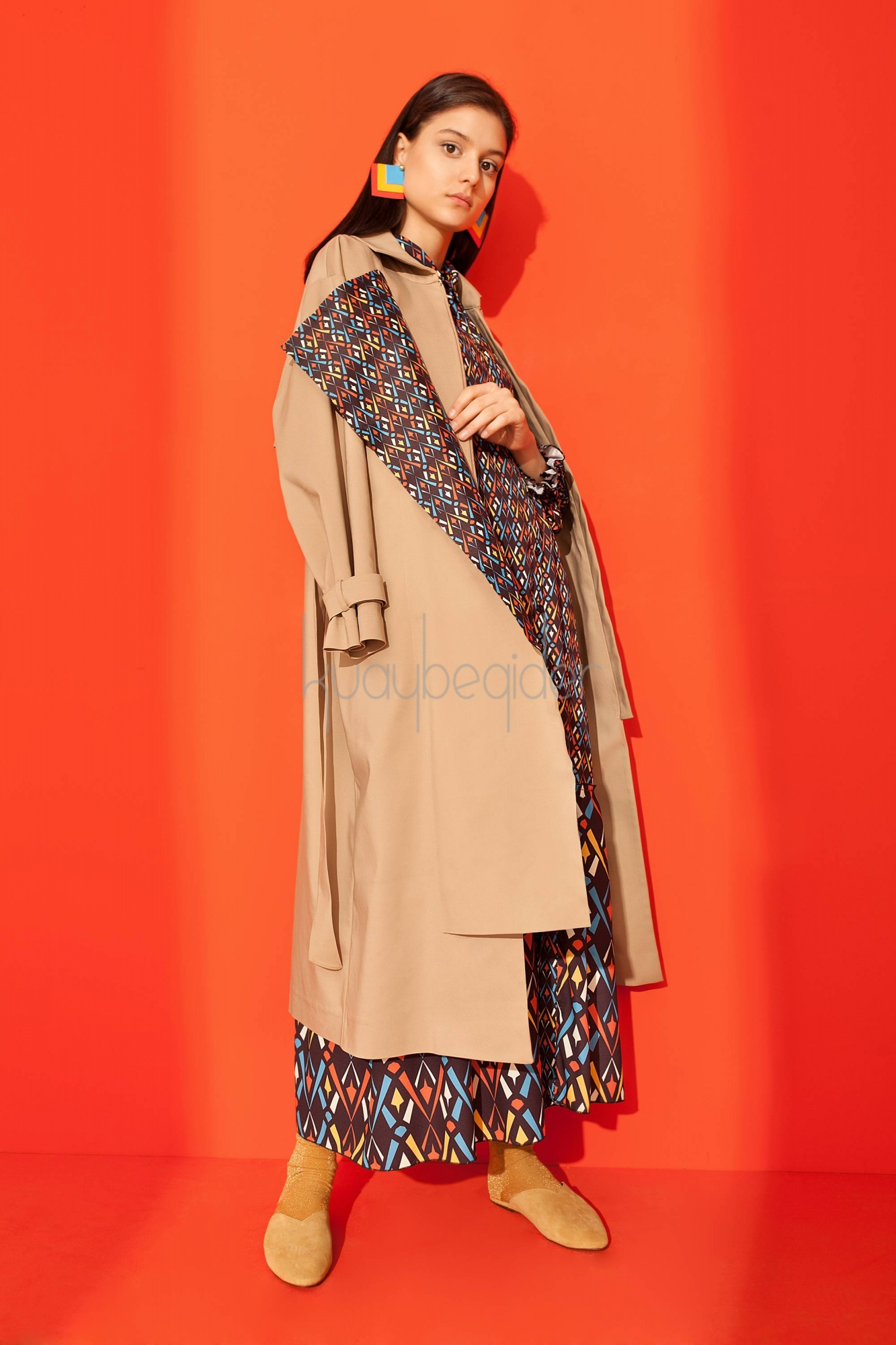 Kuaybe Gider - 7062 Camel Dignita' Long Trench