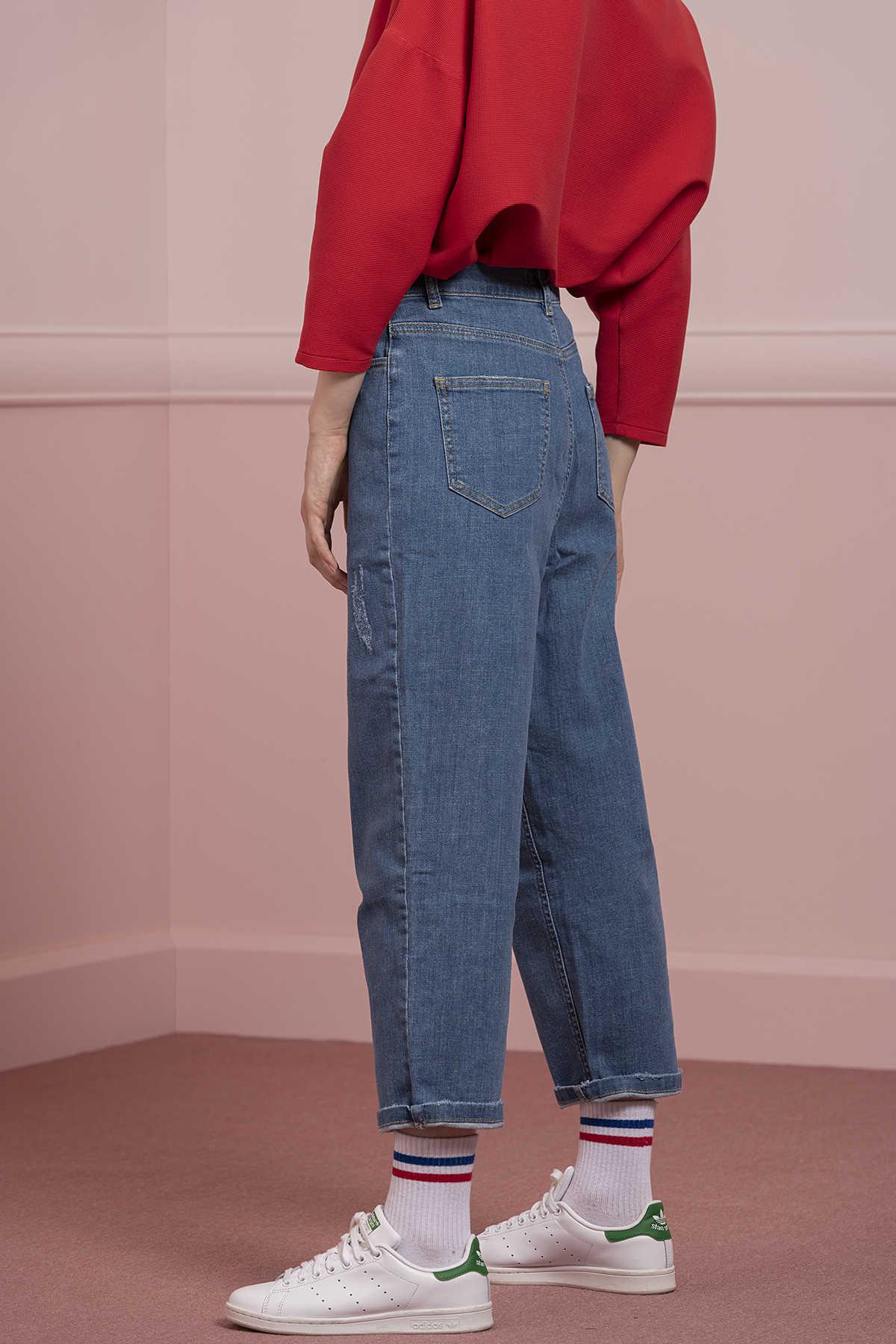Kuaybe Gider - D4009 Pantolon