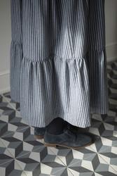 Kuaybe Gider Gri Elbise 2101 - Thumbnail
