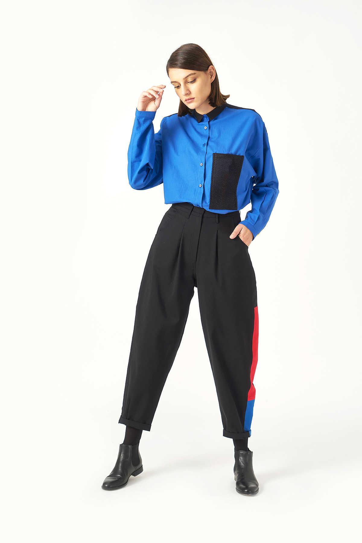 Kuaybe Gider Siyah Kadın Pantolon 4070