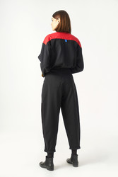 Kuaybe Gider Siyah Kadın Pantolon 4071 - Thumbnail