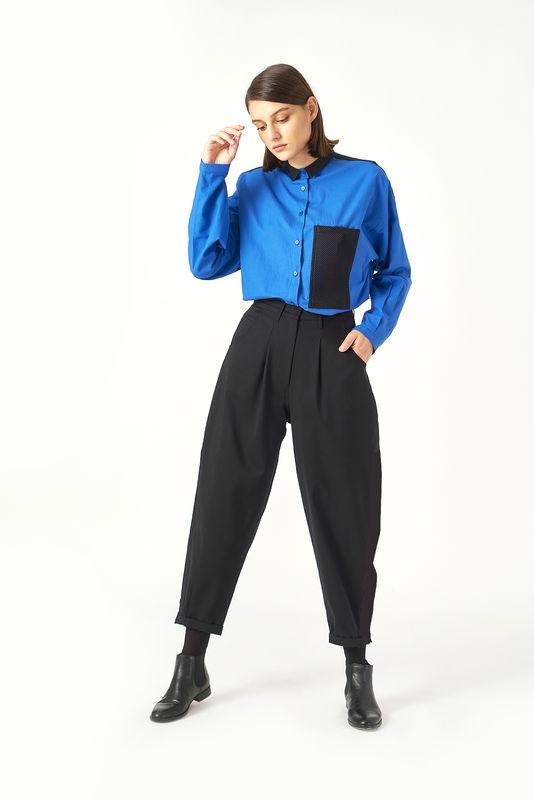 Kuaybe Gider Siyah Kadın Pantolon 4071