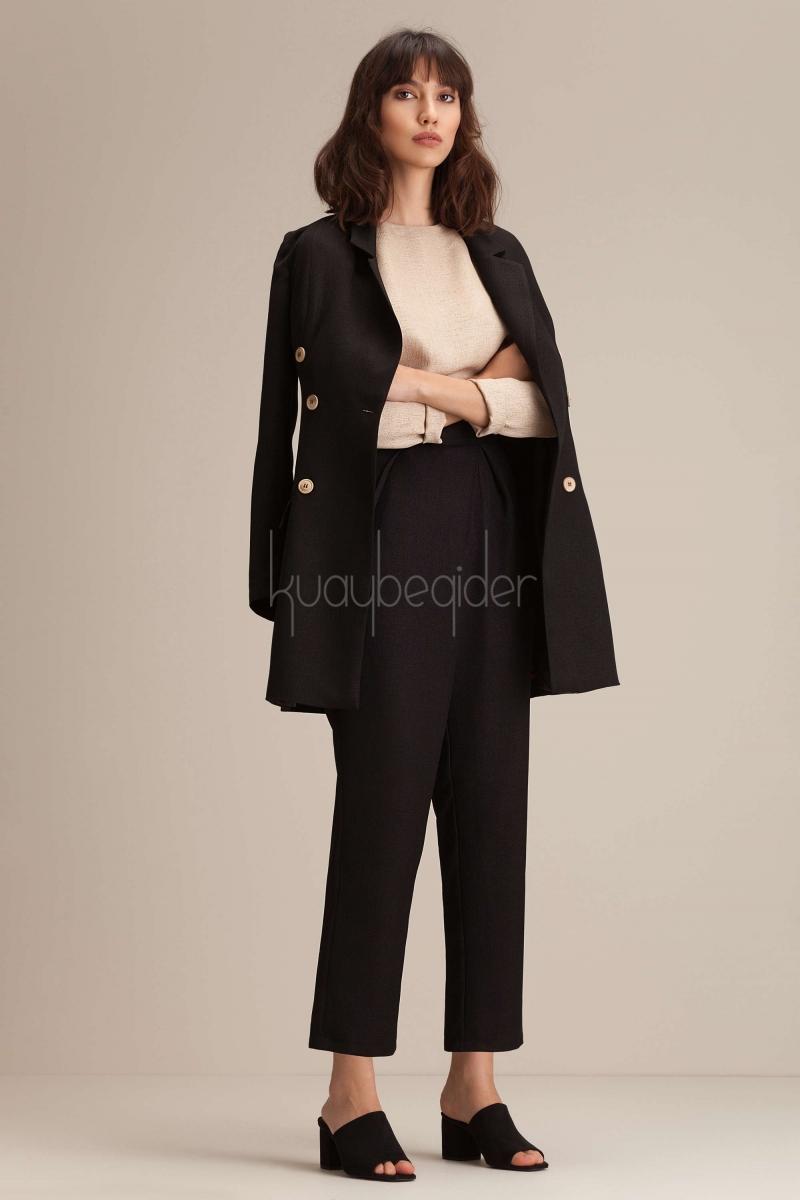 Kuaybe Gider - Siyah Spark Pantolon