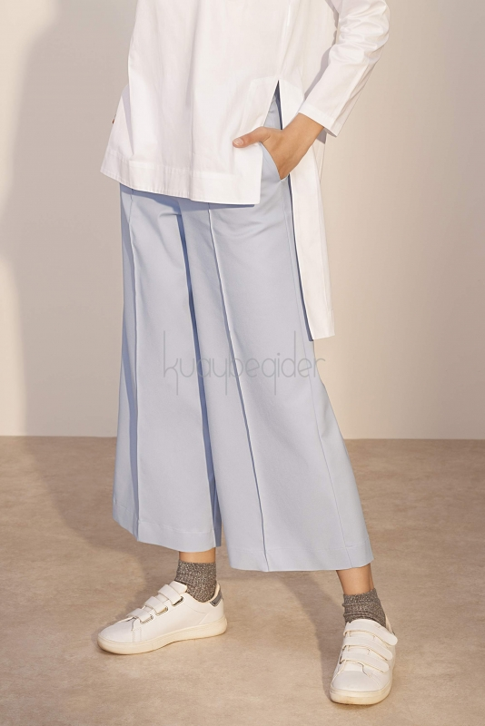 Kuaybe Gider - Mavi Sole Pantolon (1)