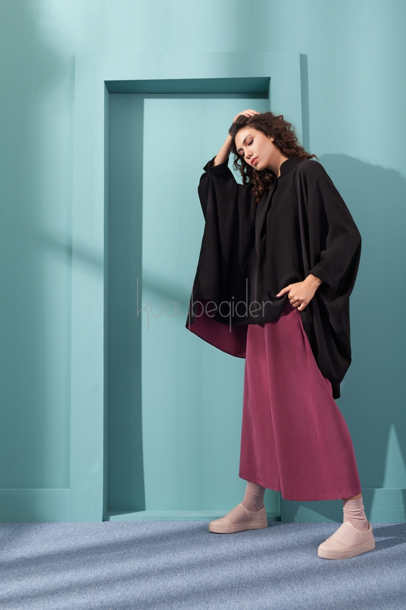 Kuaybe Gider - Siyah Mente Tunik