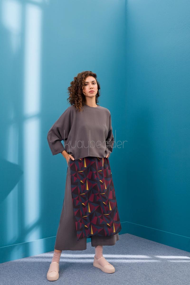 Kuaybe Gider - Gri Luce Bluz