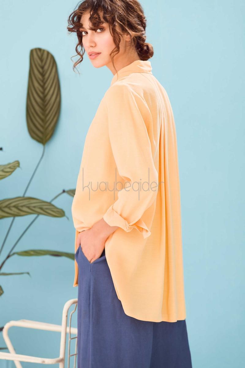 Kuaybe Gider - Sarı Stella Gömlek