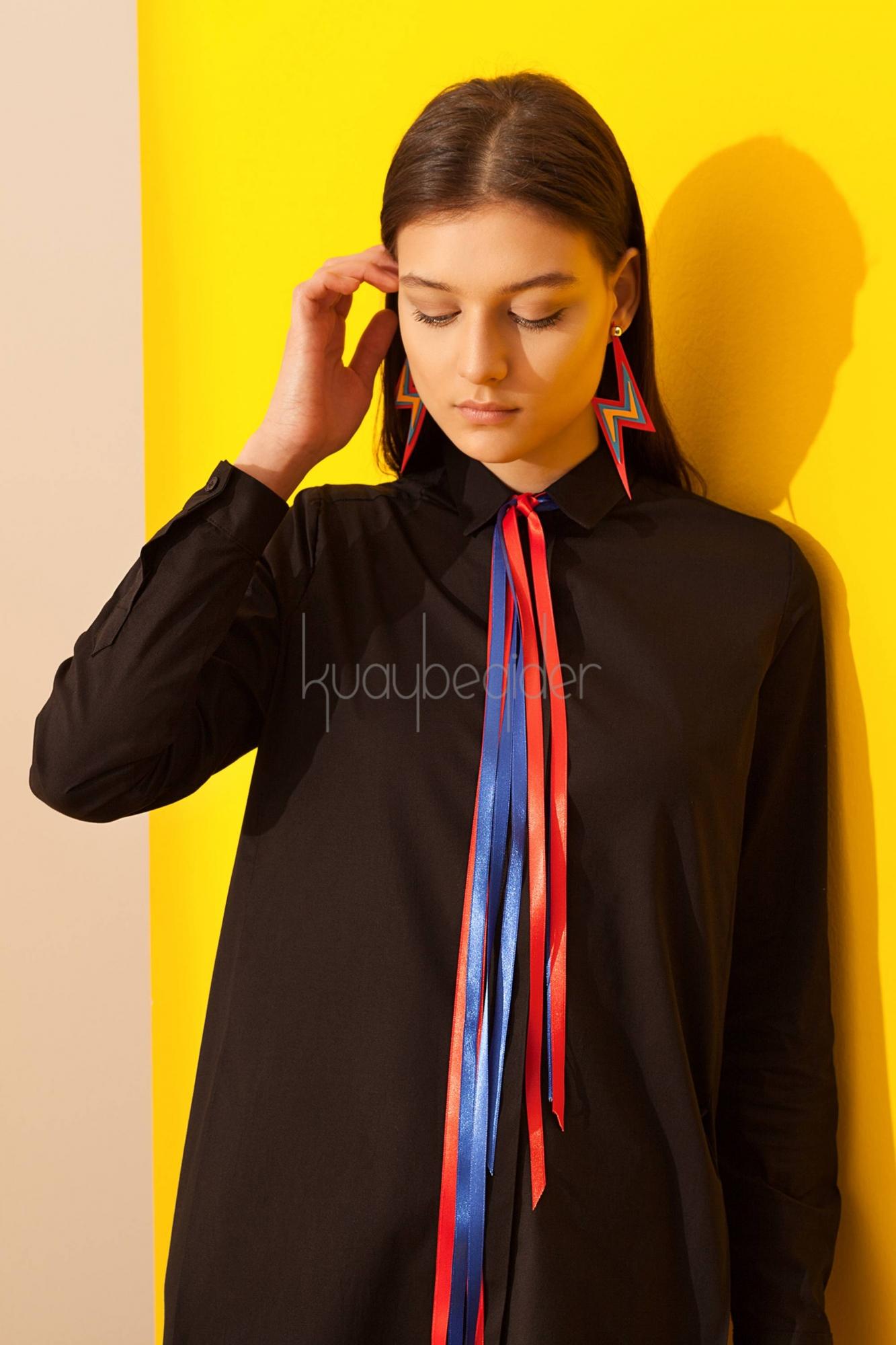 Kuaybe Gider - Siyah Fenomeno Tunik