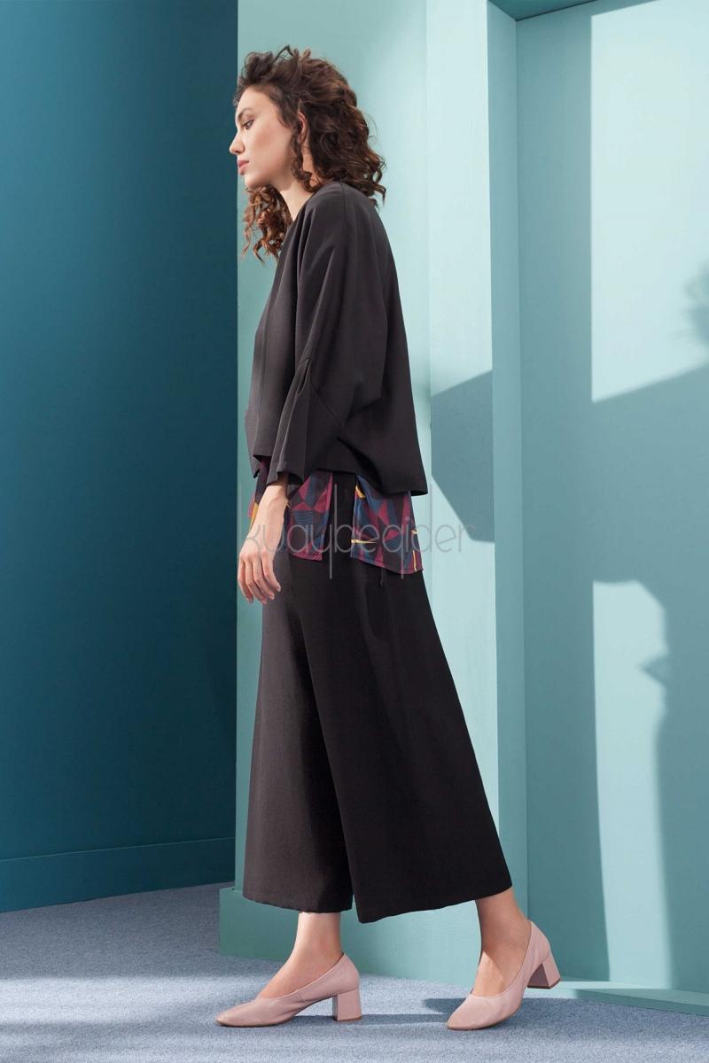 Kuaybe Gider - Siyah Luce Bluz