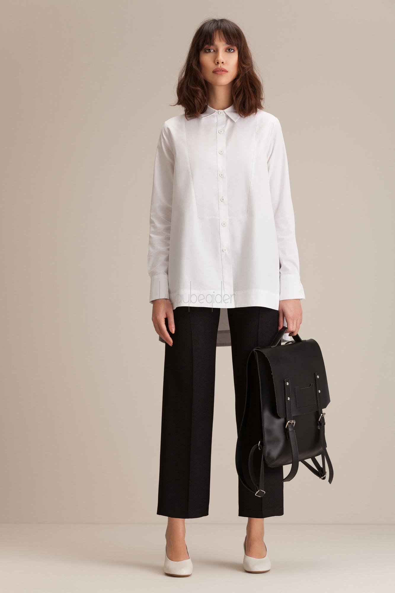 Kuaybe Gider - Siyah Miroir Pantolon