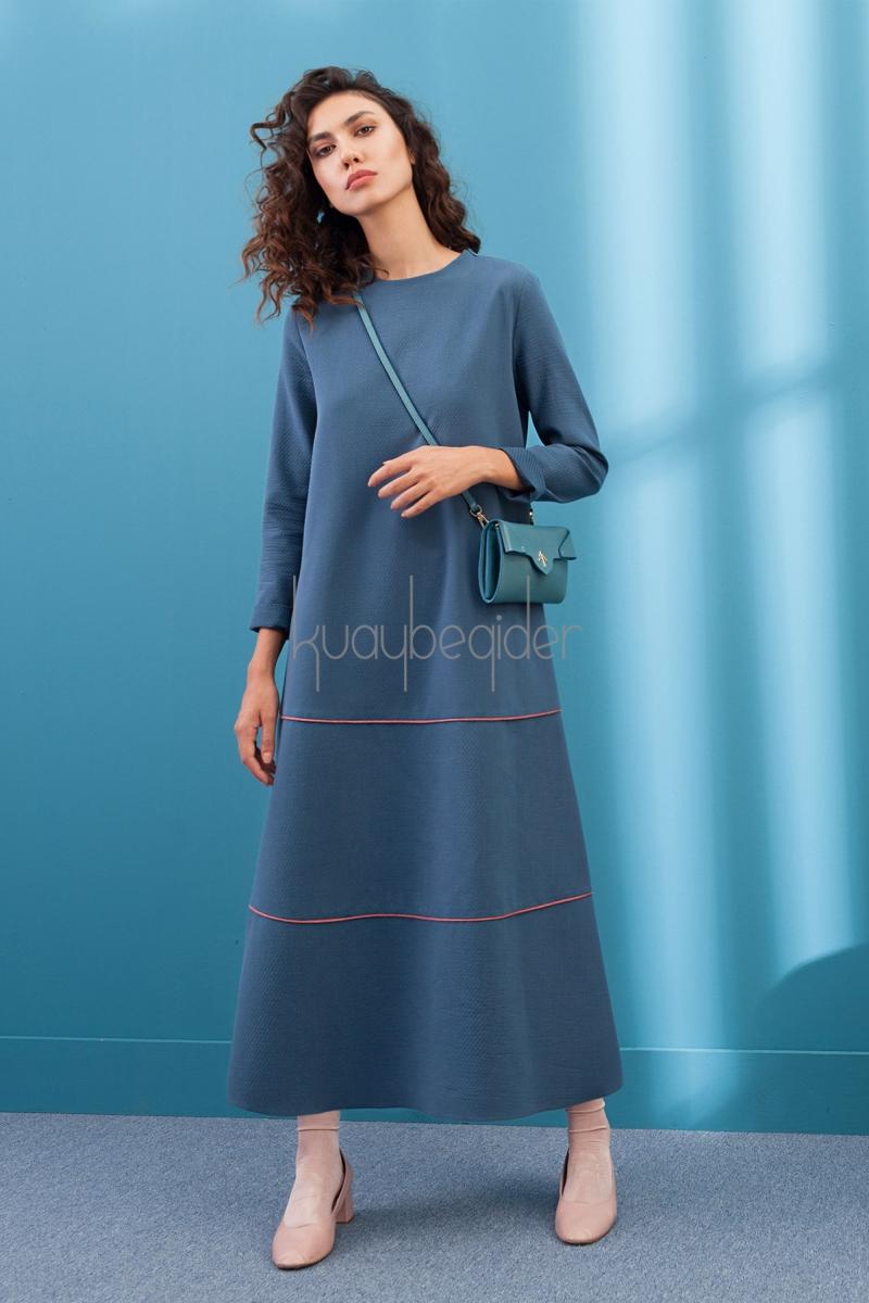 Kuaybe Gider - Petrol Pride Elbise