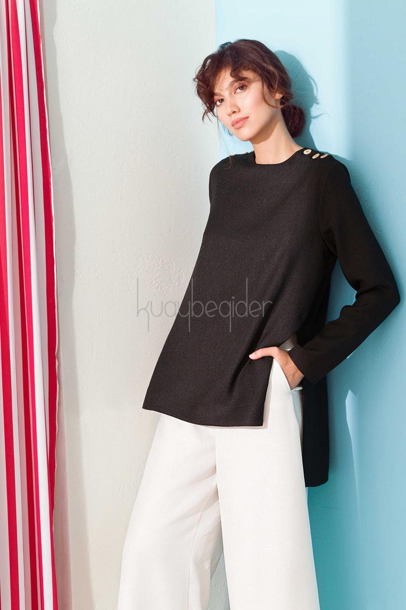 Kuaybe Gider - Siyah Spark Gömlek