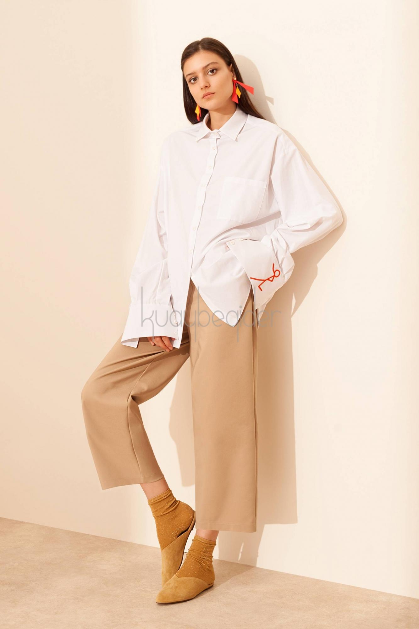 Kuaybe Gider - Yolo Coton Gömlek